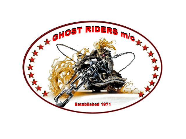 This sticker was designed and produced by the ghost riders of mercer county wv